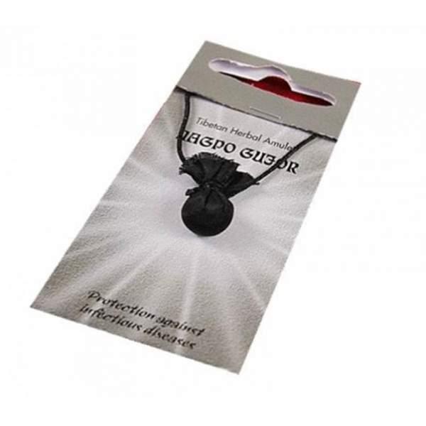 Tibetisches Amulett Nagpo Gujor-Pillen (Gesundheit)