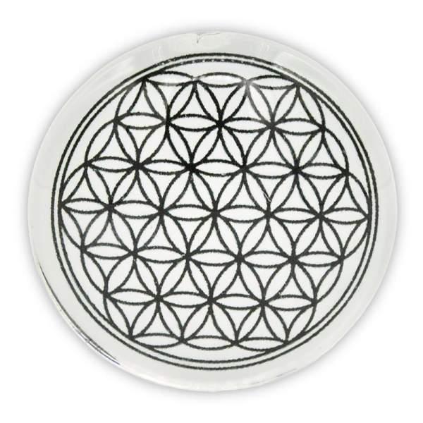 Dekorativer Magnet Blume des Lebens -- 4cm