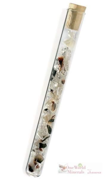 Mit allen Sinnen - mit Sardonyx & Bergkristall, quintESSENCE Edelsteinwasser-Stab Akut! 5er Pack