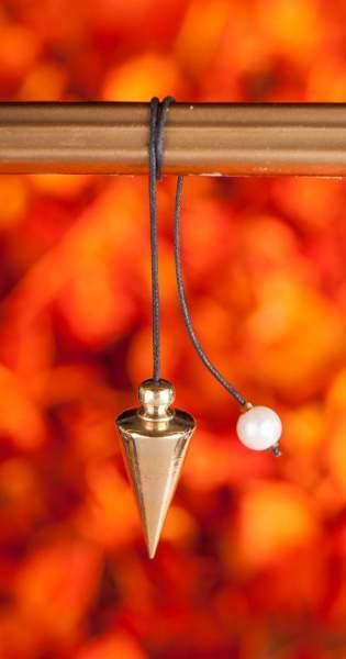 Schraubpendel, Messing poliert, ersetzt PE-5661