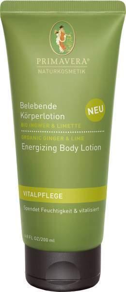 Belebende Körperlotion Ingwer Limette 200 ml