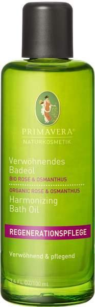 Verwöhnendes Badeöl Rose Osmanthus 100 ml