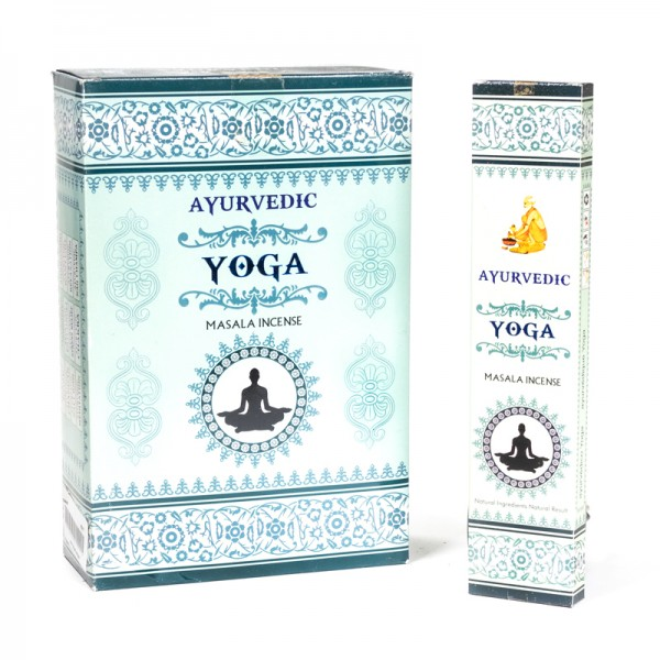 Räucherstäbchen Ayurveda Yoga Masala - handgerollt