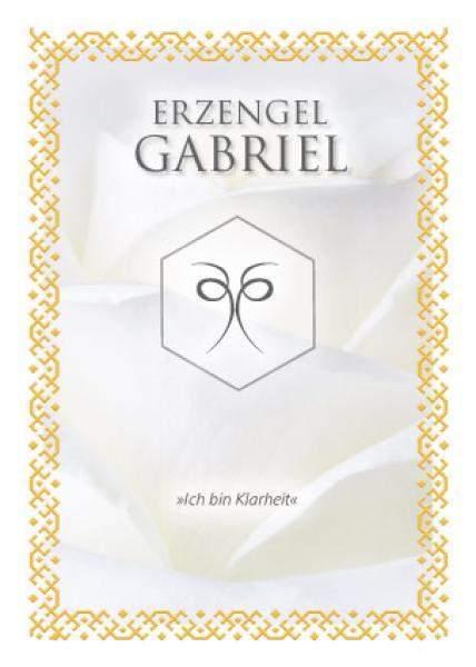 Ritualkarte Erzengel Gabriel