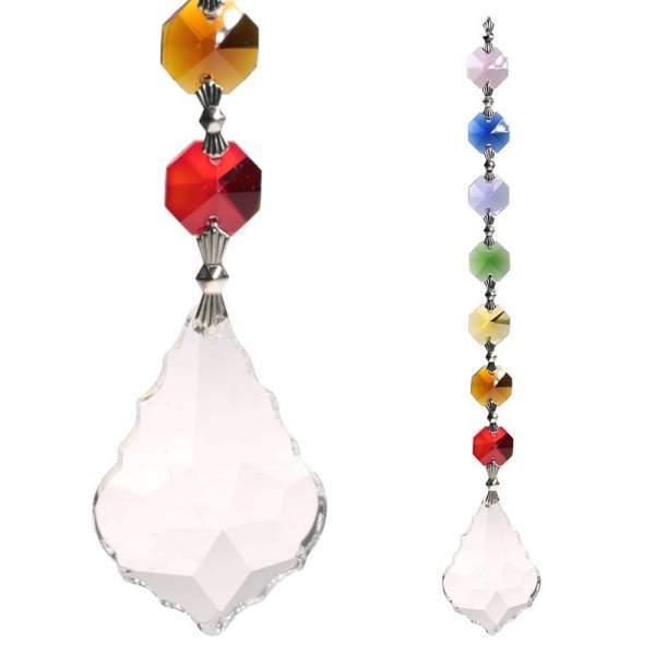 Harmony Feng-Shui Chakra Kristall-Kette -- 20 cm