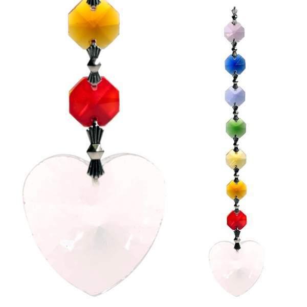 Metta Feng-Shui Chakra Kristall-Kette -- 20 cm