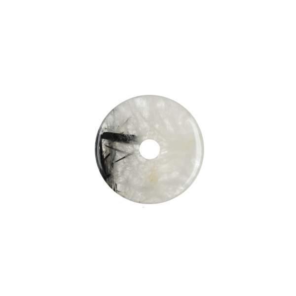 Donut Turmalinquarz, ca. 25mm (VPE: 1.0 St./pc)