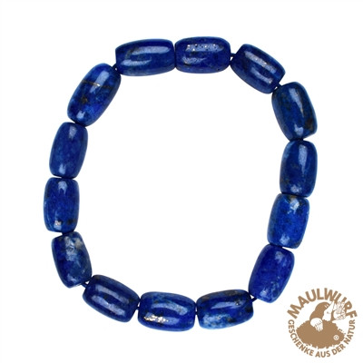 Armband Lapis Lazuli, 13mm Tönnchen (VPE: 1.0 St./pc)