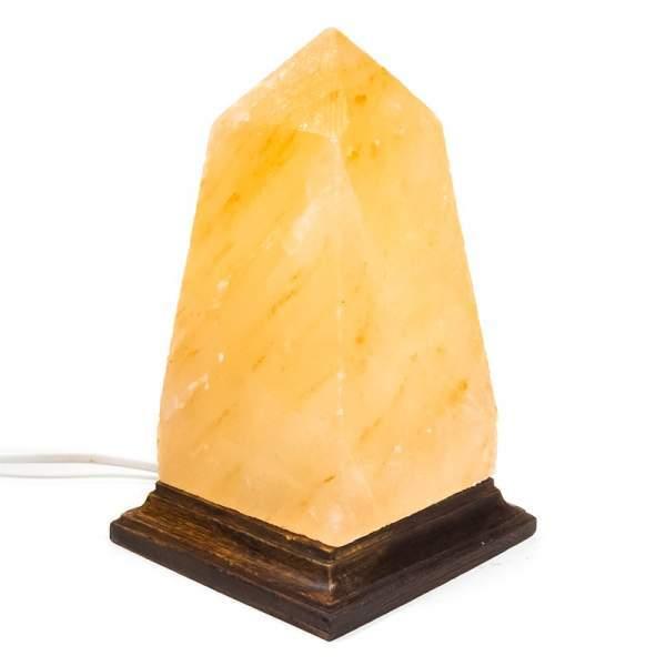 Salzkristall-Lampe Obelisk -- 2550g