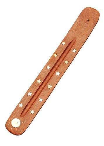 Sterne/Sonne-Einlage (Holz/Messing)