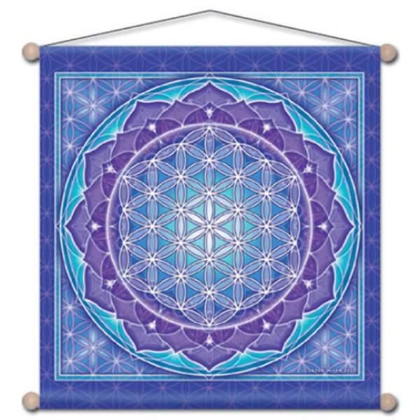 Wandschmuck für Meditation Blume des Lebens