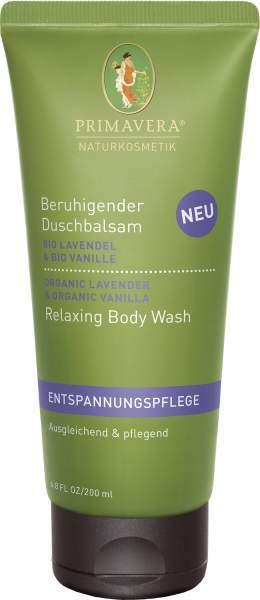Beruhigender Duschbalsam Lavendel Vanille 200 ml