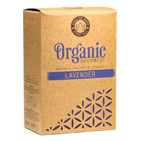 Räucherstäbchen Bio - Lavendel 15 g Masala (VPE: 12 St.) mit kostenloser Kundenprobe - handgerollt
