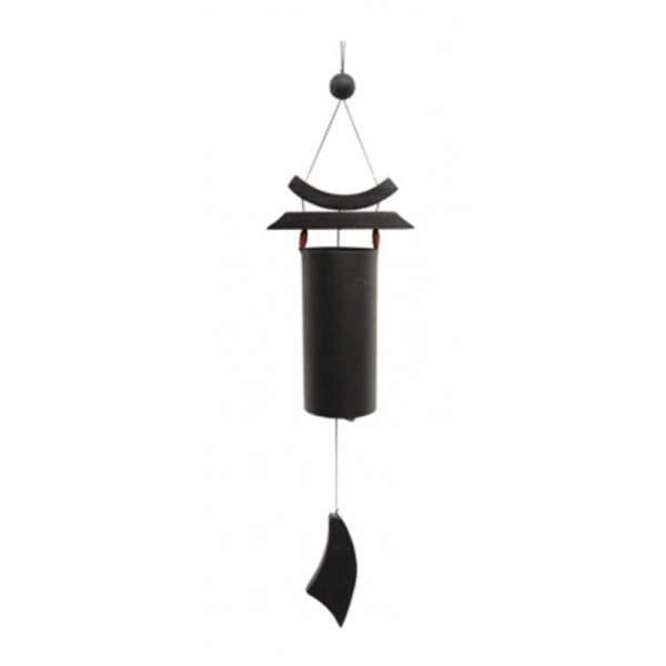Zen Windspiel schwarz -- 58 cm