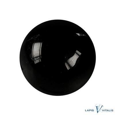 Massage-Kugel Schörl/schwarzer Turmalin (stab.), 4cm