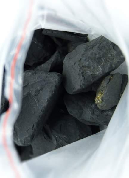 Sonderposten Schungit Rohsteine, 1kg