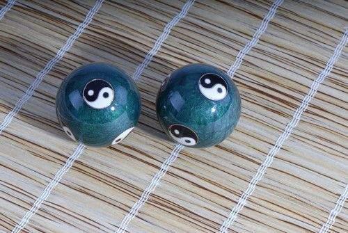 Yin und Yang grün