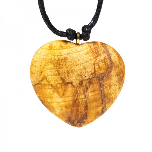 Palo Santo Halskette Herz -- 4 cm