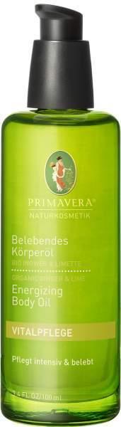 Belebendes Körperöl Ingwer Limette 100 ml