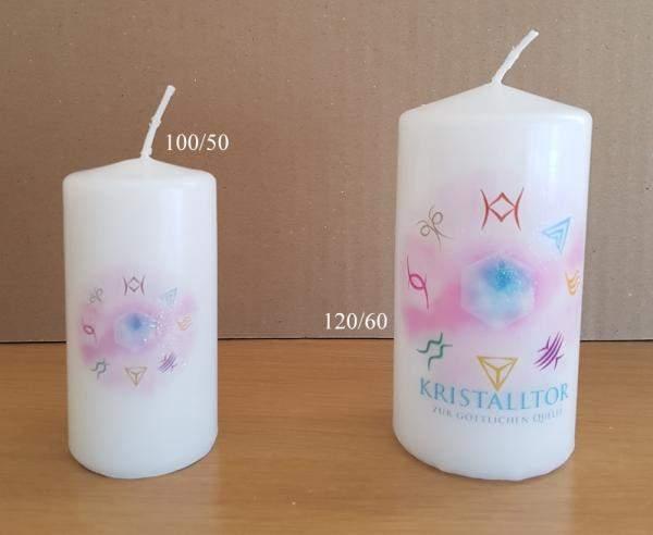 Kristalltor-Kerze 100/50