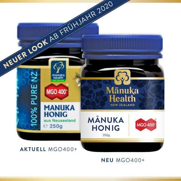 Manuka Honig MGO 400+250