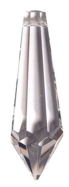 "Kristall Pendel 63mm, Glas ""bleifrei"""