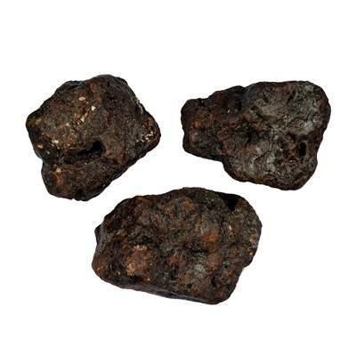 Tsesit - Goethit Rohsteine aus der Gegend um Tses, Namibia 5 St./VE