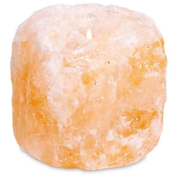 Salzkristall Teelichthalter -- 800-1200gr