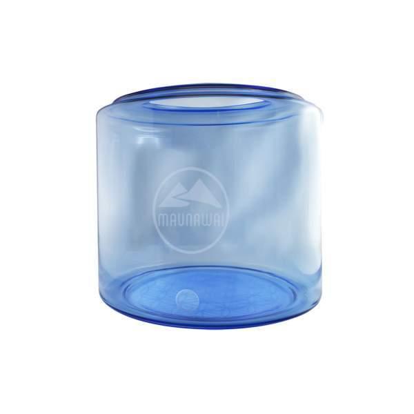 Glasbehälter mit Blume des Lebens
