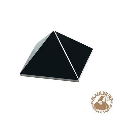 Pyramide Obsidian in Geschenkschachtel, 04cm