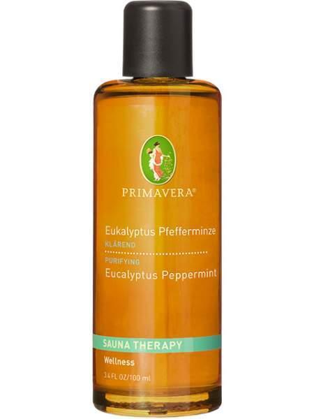 Aroma Sauna Eukalyptus Pfefferminze bio 100 ml