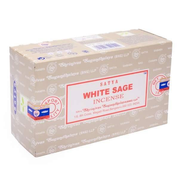 Weißer Salbei 15 gr. Handgerollt (VPE 12 Stück)