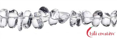Strang Chips, Bergkristall A, ca. 10-12 mm