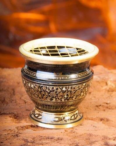 Schwarz / Gold 6 cm(VPE: 2 Stück)