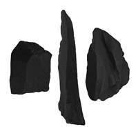 Schungit roh, ca. 01 - 03cm (1 kg/VE) (VPE: 1.0 kg)