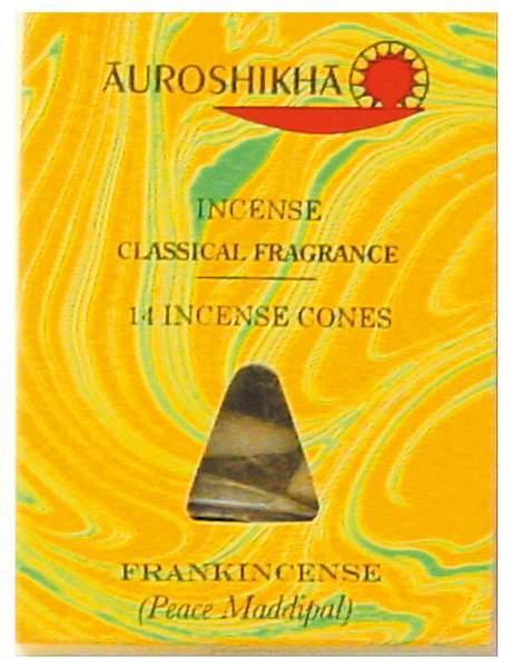 "Auroshikha Räucherkegel ""Frankincense"""