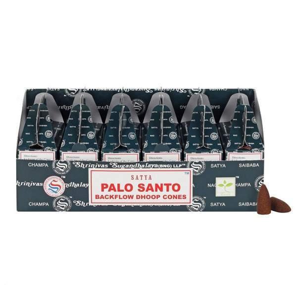 Palo Santo Rückfluss Räucherkegel -- 75 g