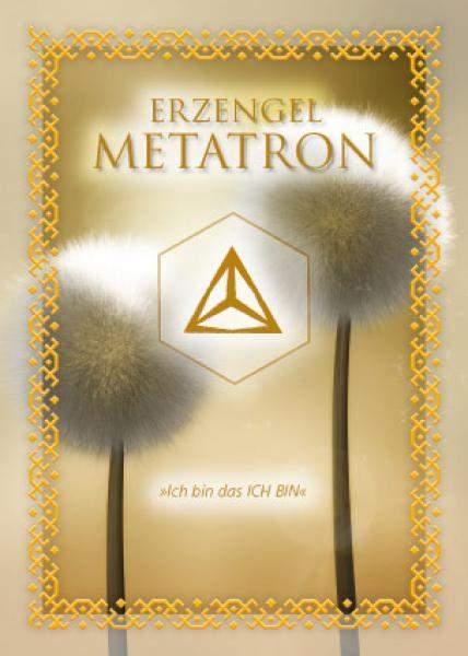Ritualkarte Erzengel Metatron