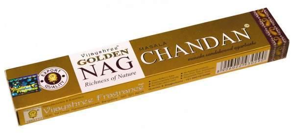 "Vijayshree Incense ""Golden Nag Chandan"" 15gr."